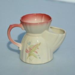 Hrnček na holenie  Shaving Mug, Letné kvety, výška 8 cm, priemer 9,5 cm + uško + hrdlo