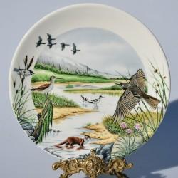Porcelánový tanier The River Valley + certifikát WEDGWOOD 21,5 cm + origin.balenie