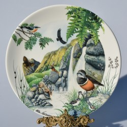 Porcelánový tanier The Lake + certifikát WEDGWOOD 21,5 cm + origin.balenie