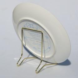 Plastový stojan na taniere do priemeru 13 cm
