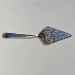 Postriebrená lopatka na zákusky, Silverplated Italy 30,5 cm x 8 cm