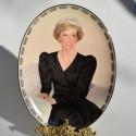 Porcelánový tanier Diana, Our Royal Princess, Bradford 22x16,5 cm