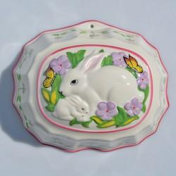 Veľká porcelánová forma Ovečka, Franklin Mint 20x18x8,5 cm