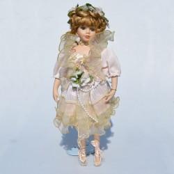 predana Porcelánová bábika - balerína so špičkami