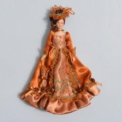 1:12 Pán -porcelánová bábika do domčeka pre bábiky, v pôvod.balení, 15 cm