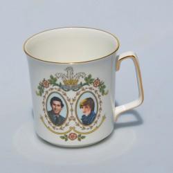 ? cena Porcelánový hrnček The Marriage of Charles and Diana, objem 300 ml