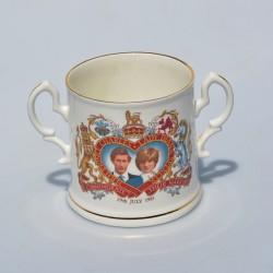 ? cena Keramický hrnček The Marriage of Charles and Diana, objem 320 ml