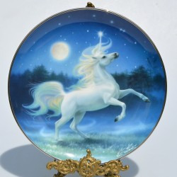 Porcelánový tanier The Rainbow Valley of the Unicorn 21,5 cm