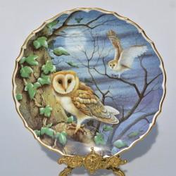 Porcelánový tanier The Snowy Owl
