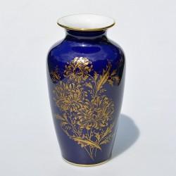 Porcelánová váza Letné kvety, Norcroft, výška 15 cm