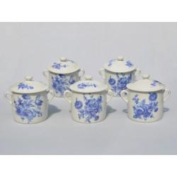 Sada 2 ks Porcelánová mliekovka  + cukornička Elgar, Royal Worcester  400 ml a 380 ml