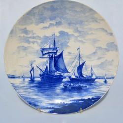 Starožitný pamätný tanier Dáma - Ledet er I Lave, Royal Copenhagen 25 cm