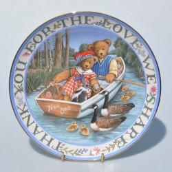 Porcelánový tanier Bless This House, Royal Doulton  20,5 cm