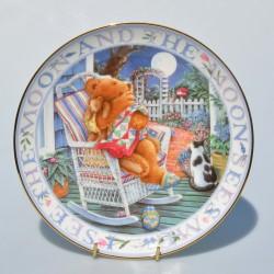 Porcelánový tanier Teddie´s Guardian Angel, Royal Doulton  20,5 cm