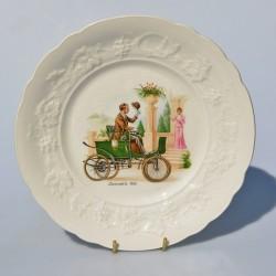 Porcelánový tanier  De Dion Bouton 26 cm