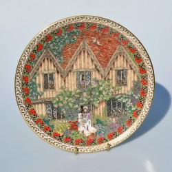 Porcelánový tanier Sussex Flint, Royal Worcester  21 cm
