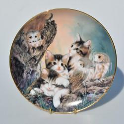 Porcelánový tanier Peaches and Cream, Danbury Mint 21 cm