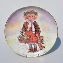 Porcelánový tanier Bicycle Ride, Leonardo Collection 21 cm