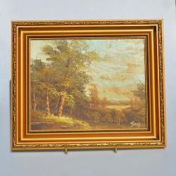 predané Obraz Kytica vo váze Rám 34,5 x 29 cm