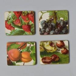 Sada - 6 ks malé podložky pod taniere Win-El-Ware 15,2 x 15,2 cm