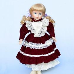 PREDANE 42 cm Porcelánová bábika Bonnie Z55I, bez stojanu na státie