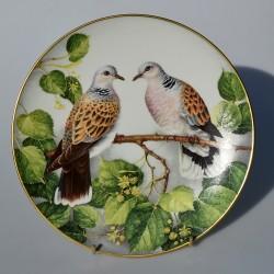 Porcelánový tanier  Northern Shoveler, Limoges 23 cm + certifikát, origin.balenie
