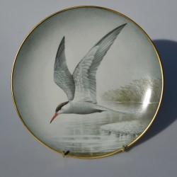 Porcelánový tanier Old World Kestrel, Limoges 23 cm + certifikát, origin.balenie