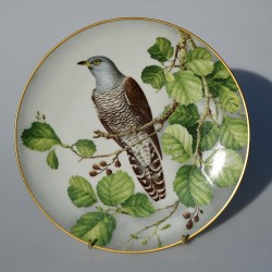 Porcelánový tanier Black Grouse, Limoges 23 cm + certifikát, origin.balenie