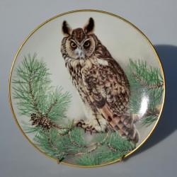 Porcelánový tanier Cuckoo, Limoges 23 cm + certifikát, origin.balenie