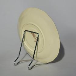 Kovový ZLATÝ stojan No.2 na menšie taniere s priemerom max 17 cm