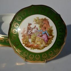 Porcelánová šperkovnička Limoges B19, rozmer 8,5x4 cm