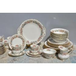 predané Starožitná obedová sada pre 4 osoby Spode´s, Royal Jasmine