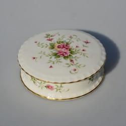 Porcelánová šperkovnička Ruža,  Regent of London, priemer 10,5 cm