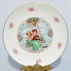 Porcelánový tanier Christmas 1981, Coalport 23 cm