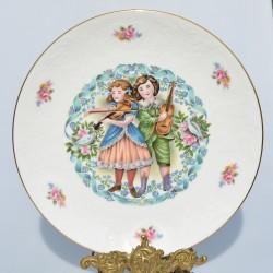 Porcelánový tanier Valentine´s Day 1976 Royal Doulton 21 cm + origin.balenie