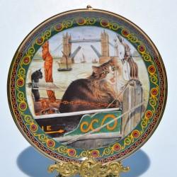 Porcelánový tanier Gemma, Danbury Mint 20,5 cm