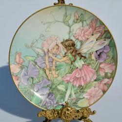 Porcelánový tanier víla2