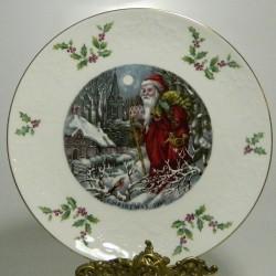 Porcelánový tanier Christmas 1