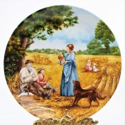 Porcelánový tanier Essex Red Brick, Royal Worcester  21 cm
