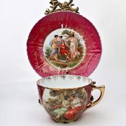 predane X  Porcelánový dvojset Crown Fenton, Dynasty 400 ml