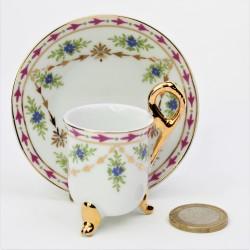 predane Miniatúra - porcelánový dvojset, výška šálky je 3,2 cm