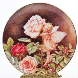 Porcelánový tanier The Rose Fairy, Borden 20 cm
