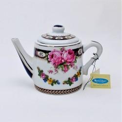 predané Miniatúra - porcelánový čajník Primroses, Ayshford 6,5x5x6 cm + uško + hrdlo, dekorácia