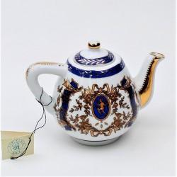 Miniatúra - porcelánový čajník Ruže, Porcelain Art, výška 8 cm, dekorácia