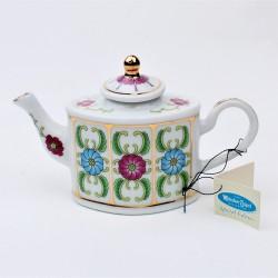 Miniatúra - porcelánový čajník Anjel, Porcelain Art, výška 8 cm, dekorácia