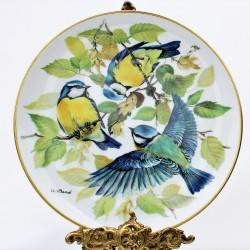 Porcelánový tanier Korsikanischer Kleiber, Alt Tirschenreuth 22 karát zlato, 19,5 cm