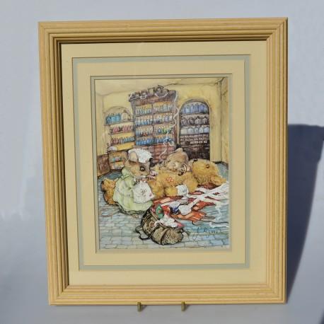 Obraz- reprodukcia Myšky liečia, Jane Pinkney 34x29 cm