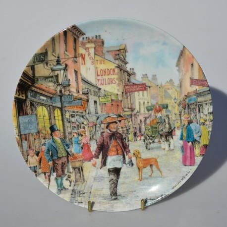 Porcelánový tanier The Flower Seller, Davenport 19,5 cm