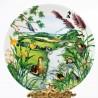 Porcelánový tanier The Meandering Stream + certifikát WEDGWOOD 21,5 cm