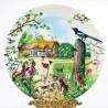 Porcelánový tanier The Farm Cottage + certifikát WEDGWOOD 21,5 cm